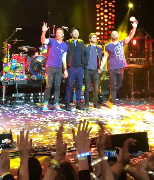 Coldplay money shot